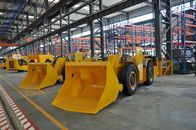 Mining Load Haul Dump Machine , 4 Wheel Lhd Loader For Underground Project