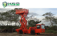 Underground Service Vechicles 1 Ton Scissor Lift Truck for Underground Mining or Tunneling Project