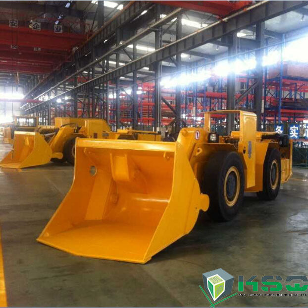 Hydraulic Mining Load Haul Dump Truck Articulated Underground For Rock Excavation