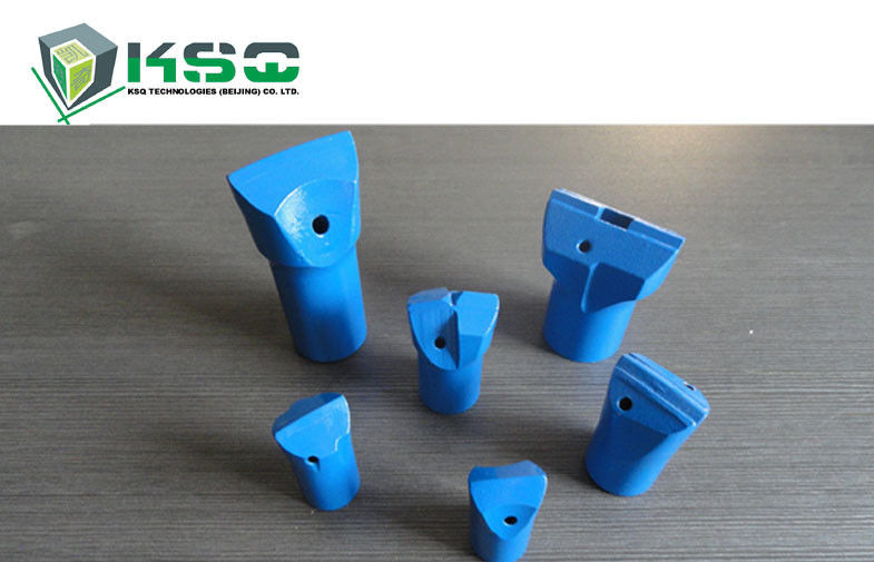 Tungsten Carbide Hard Rock Mining Drilling Bits 7° Tapered Stable And Reliable