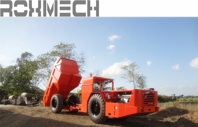 12 Tons RT -12 Heavy Duty Dump Trailers for underground mining or project