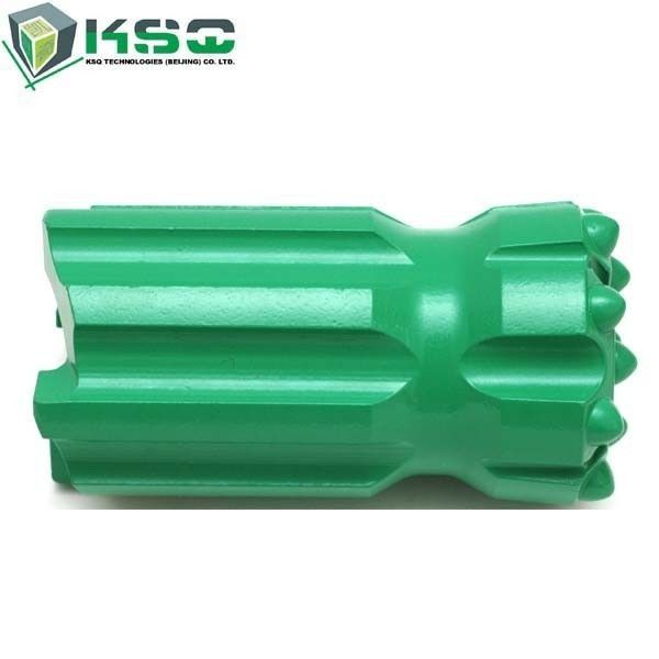 Green Mining Drill Bits R38 Spherical / Ballistic Buttons Dia 64 - 89mm