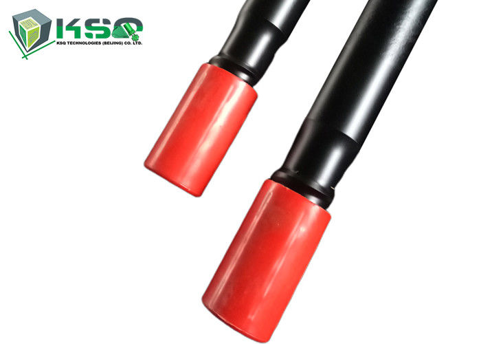 Round Hex MF Extension Threaded Drill Rod T38 1220mm For Quarrying Tunneling Blasting